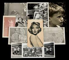 Algunas fotografías personales de la actriz. Coleccion privada de Lee Strasberg