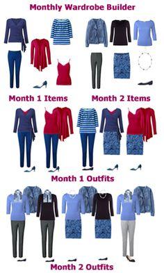 Monthly capsule wardrobe service #capsulewardrobe #seasonalcapsulewardrobe #capsulewardrobeservice #yourbestcolours