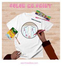 """""""COLOR ME SHIRT by EZO clothing brand"""" by runwithfashion on Polyvore"""