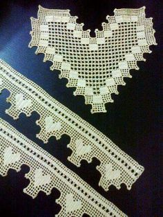HUZUR SOKAĞI (Yaşamaya Değer Hobiler) Crochet Art, Filet Crochet, Crochet Boarders, Crotchet Patterns, Heart Patterns, Crochet Designs, Doilies, Needlework, Diy And Crafts