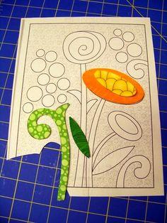 New at the Attic Window Quilt Shop ! Since I always use the freezer paper method when doing appliqué . Reverse Applique, Hand Applique, Machine Applique, Machine Quilting, Quilting Tutorials, Quilting Projects, Quilting Designs, Applique Quilt Patterns, Applique Templates