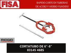 """CORTATUBO DE 6""""- 8"""" 83145 468S. Rapido corte en tuberias de acero y hierro fundido- FERRETERIA INDUSTRIAL -FISA S.A.S Carrera 25 # 17 - 64 Teléfono: 201 05 55 www.fisa.com.co/ Twitter:@FISA_Colombia Facebook: Ferreteria Industrial FISA Colombia"""
