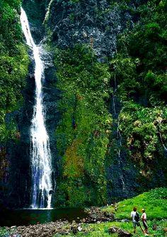 Faarumai Waterfall #Tahiti