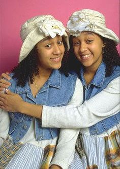 """Tia and Tamera Mowry  . . .  Wrigley's Doublemint Gum Twins  . . . starred in """"Sister, Sister"""""""