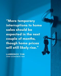 Some Highlights According to Lawrence Yun, Chief Economist at NAR, home prices are forecasted to rise. Results from the Existing Home Sales Report note that home sales declined in March due to the coronavirus, but prices are still strong.