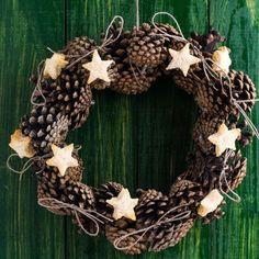 pine cones wreath | Pine Cone Wreath | Wreaths!!!!