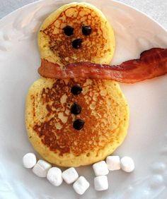 bonhome de neige, crepe, chandeleur, pancake