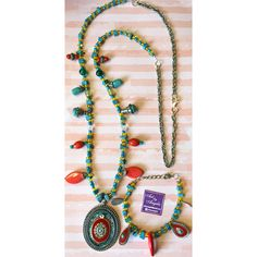New collection with beads (Necklaces-Bracelets-Earrings) •New designs •All kind of shapes and all kind of pendants •Using Winsor&Newton cotman paper, watercolors and swarovski crystals