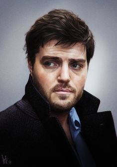 Cormoran Strike Carry-All Pouch by tillieke - Small x Tom Burke Actor, Tom Burke Cormoran Strike, Bbc Musketeers, Luke Pasqualino, Detective Series, Tv Actors, Michael Fassbender, Anime Art Girl, Carry On