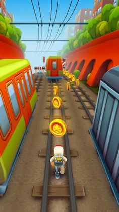 Subway Surfers New York, Subway Surfers Game, New Looney Tunes, Looney Toons, Temple Run Game, Subway Surfers Download, Dojo Rewards, Free Birthday Gifts, Crepe Paper Roses