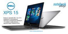Dell XPS 15 - Svetovo najmenší 15 palcový notebook s mimoriadnym výkonom a pôsobivým displejom – to všetko v sebe skrýva najvýkonnejší notebook XPS. Speed Up Computer, Dell Xps, Laptop, Mens Fashion, Notebook, Moda Masculina, Man Fashion, Fashion Men, Men's Fashion Styles