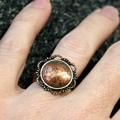Yummy and Company recycled copper ring