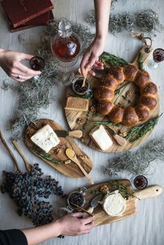 Cheese course from L'art de la Table cookbook