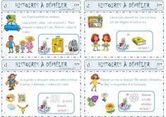 Histoires à démêler les additions French Worksheets, Learn To Count, Comprehension, Montessori, Activities For Kids, Bullet Journal, Blog, Band Problems, Cycle 2