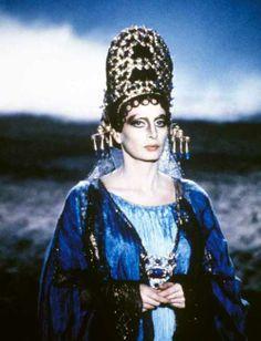 """Capucine in """"Fellini Satyricon""""."""