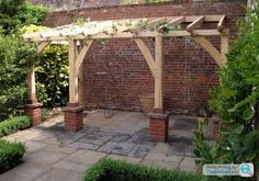 Wooden Pergola/Covered lean to ideas - Page 1 - Homes Gardens and DIY - PistonHe., Wooden Pergola/Covered lean to ideas - Page 1 - Homes Gardens and DIY - PistonHeads Even though historical with notion, the pergola have been going through a bit of. Rustic Pergola, Curved Pergola, Pergola Attached To House, Pergola Swing, Metal Pergola, Deck With Pergola, Cheap Pergola, Wooden Pergola, Covered Pergola