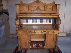 Antique Desk made out of Pump Organ