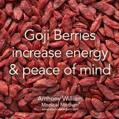 Going berries increase energy