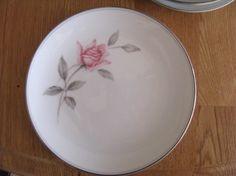 2 Noritake Rosemarie 6044 Fine China Bread & Butter Plates