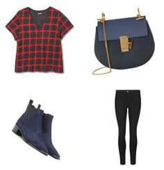 """Untitled #13"" by shakirajaim on Polyvore featuring Merona, Acne Studios, Chloé and plus size clothing"