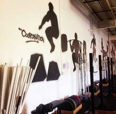CrossFit Box Mural