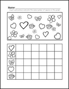 FREE MATH LESSON Teen Number Ten Frames A Valentines