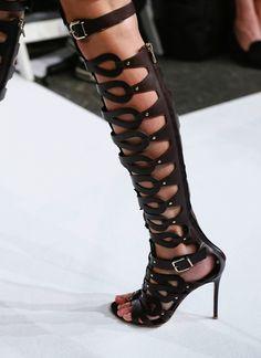 ~~ Altuzarra chocolate boots/ss13 ~~