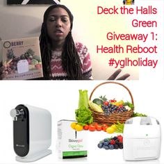 WIN all these prizes from Deck The Halls Green Giveaway on YolisGreenLiving.com now