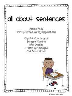 This unit includes 70 pages of resources to help you teach your students about sentences/fragments, sentence types, and end marks.  I have included...