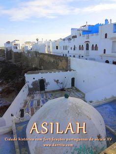 Asilah, Cidade na Costa Atlântica no Norte de Marrocos