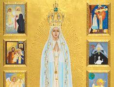 Iconographer, Vivian Imbruglia, honors Fatima - National Catholic Register