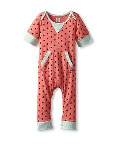 72% OFF Lake Park Kids Baby Romper (Pink Dot) #apparel #Kids