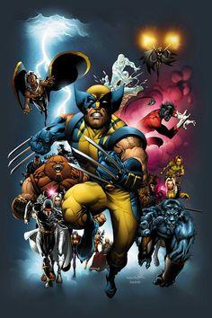 OHOTMU X-Men 2004//Salvador Larroca/L/ Comic Art Community GALLERY OF COMIC ART