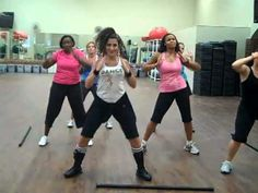 30 Minute YouTube Zumba Workout - this is super fun. The last video doesn't work anymore but I do a different cool down anyway.  The rest are great, although I do the first video 3rd cause it is tough!