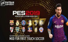 FTS 19 Mod PES 2019 Apk Data Obb by M Pro Gaming Download Fifa Games, Soccer Games, Phone Games, Xbox Games, Free Game Sites, Pro Evolution Soccer 2017, Mundo Geek, Game Data, Game Title