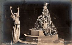 Max Reinhardt's production of The Miracle, 1912 Silent Film Stars, Photos, Pictures, In Hollywood, Madonna, Storytelling, Theatre, Design Inspiration, Statue