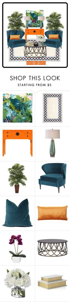 """""""tropical feel"""" by qqamrah on Polyvore featuring interior, interiors, interior design, home, home decor, interior decorating, Marlies Merk Najaka, Jonathan Adler, Missoni Home and Diane James"""