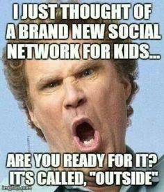 I just thought of a brand new social network for kids meme - Funny Pictures & Funny jokes