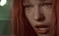 cinemagraph gif cinemagraph crying tears bruce willis the fifth element gary oldman orange hair cinema graph Michelle Yeoh, Friend Zone, Milla Jovovich, Gif Animé, Animated Gif, Tom Cruise, Gifs, Beautiful Images, Most Beautiful