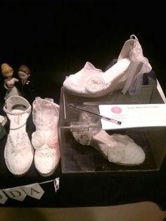 Las zapatillas de la novia.