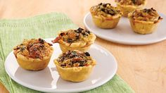 This easy mini quiche recipe makes enough servings to feed a large crowd. Worcestershire sauce, onion and Swiss cheese add a memorable flavor your guests will love.
