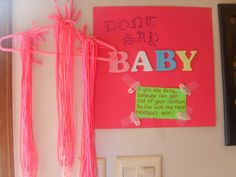 Party game for Baby showers