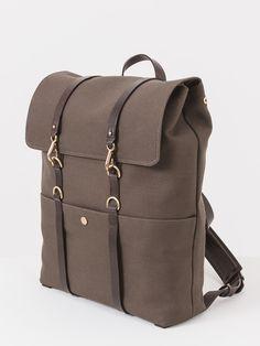 Mismo Army / Dark Brown Backpack