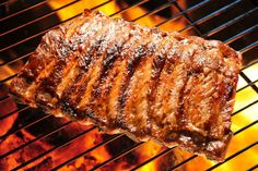Find Grilled Pork Ribs On Grill stock images in HD and millions of other royalty-free stock photos, illustrations and vectors in the Shutterstock collection. Pork Ribs Grilled, Baked Pork, Grilled Meat, Oven Baked, Rib Recipes, Grilling Recipes, Cooking Recipes, Cooking Ribs, Cooking Ham