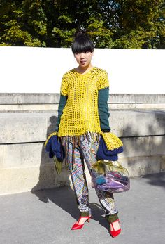 Suzie Bubble from Style Bubble  Paris Fashion Week  Street style and fashion trends - Lelook