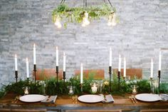 62 Ideas For Wedding Winter Table Decorations Style Winter Wedding Receptions, Winter Wedding Centerpieces, Reception Ideas, Reception Food, Wedding Table Garland, Wedding Table Decorations, Winter Decorations, Centerpiece Ideas, Table Wedding