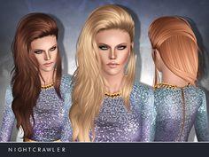 Emma's Simposium: Free Hair Pack #168 By Nightcrawler Sims - Donated...