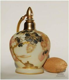 Link to international perfume bottle collectors Association page   Crown Milano Atomizer
