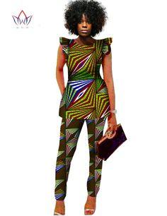 Dashiki Women 2 Piece Pants Sets Afrikaanse Jurken 2 Piece Outfits Pants Women African Outfits Brand Clothing Plus Size BRWWY517