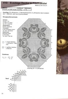 World crochet: Tablecloth 99